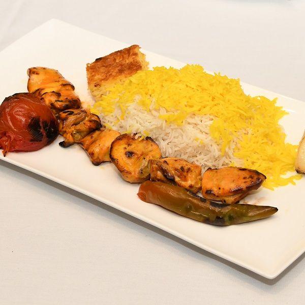 chelow joojeh kebab