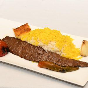 chelow kebab barg