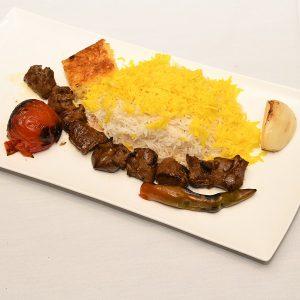 chelow kebab chenjeh