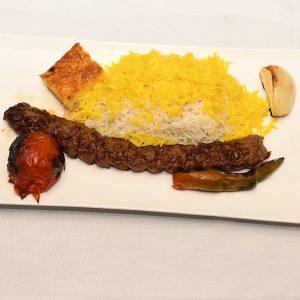 chelow kebab loghmeh