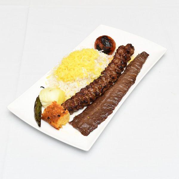 chelow kebab soltani